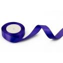 Satin ribbon 2,5cm * 25yard Violet 121