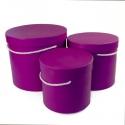 Set of tubes 3 pcs 9918 lilac