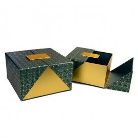 Набор коробок для подарков с 2 шт W5422