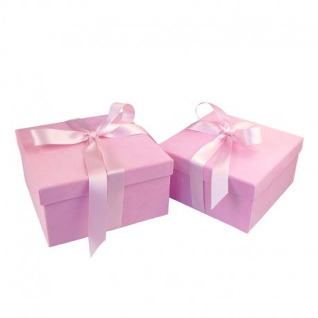 Набор бархатных коробок для подарков с 2 шт W5751