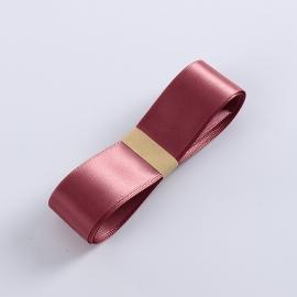 Satin ribbon R.CSZD.025-013 Cinnabar