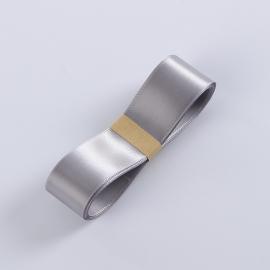 Стрічка атласна R.CSZD.025-124 Grey