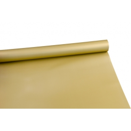 Film opaque bilateral in a roll of 8 m P.XXY-062 Gold