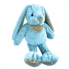 Іграшка поліестерна Кролик 0220-1 Блакитний
