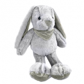 Іграшка поліестерна Кролик 0220-1 Сірий