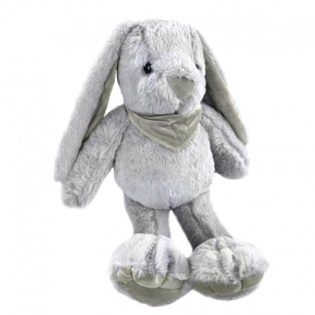 Игрушка полиэстерная Кролик 0220-1 Серый