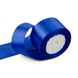 Лента сатиновая 5 см. * 30 м Синий 40