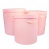 Набор тубусов с 3 шт W5639 розовые