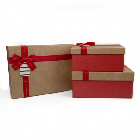 Set of gift boxes with 3 pieces B18-44