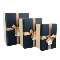 A set of cardboard boxes for gifts with 3 pcs B18-46