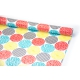 """Coated paper 0.7 m x 10 yards """"Big peas"""" are multicolored"""