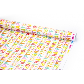 Coated paper 0.7 m x 10 yards Holiday cupcakes