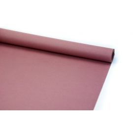 Бумага плотная 60см х 5м темная пудра