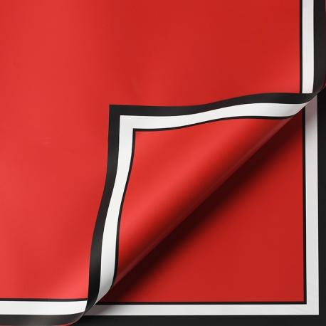 "Matte film in sheets ""White border"" P.JYXK-16 Lava Red"
