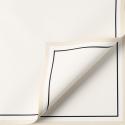 """Пленка матовая в листах """"Белая кайма"""" P.JYXK-01 Pearl White"""