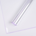 Transparent film with border P.MLWX-031 Lilac