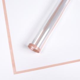 Плівка прозора з каймою P.MLWX-167 Icy Pink