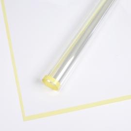 Плівка прозора з каймою P.MLWX-242 Yellow