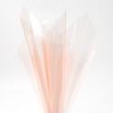 Пленка прозрачная в листах 60х60см P.XHXL-053 Peach