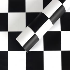 "Matte film in chess sheets ""S.YJN-5 Black"""