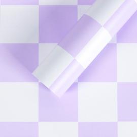 """Плівка матова в листах """"Шахмати"""" S.YJN-4 Lavender"""