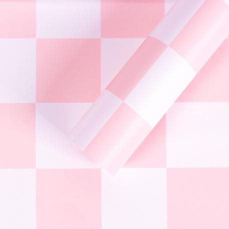 "Пленка матовая в листах ""Шахматы"" S.YJN-1 Pink"