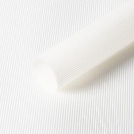 """Матовая пленка в рулоне 0,6 х 9 м """"Полоски винтажные"""" S.WMX-01 White"""