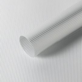 "Матовая пленка в рулоне 0,6 х 9 м ""Полоски винтажные"" S.WMX-02 Grey"