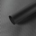 "Матовая пленка в рулоне 0,6 х 9 м ""Полоски винтажные"" S.WMX-09 Black"