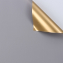 Double-sided film P.GOY 126 Gray + Gold