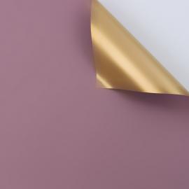 Плівка матова двостороння 60 × 60 см. Antique Gold какао