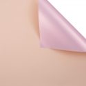 Пленка матовая двосторонняя 60 × 60 см Pink gold 058 Peach