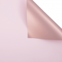 Matte double sided film 60 × 60 cm. Pink gold 168 Icy Pink