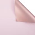 Плівка матова двостороння 60 × 60 см Pink gold 168 Icy Pink