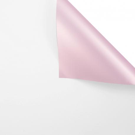 Плівка матова двостороння 60 × 60 см P.MGOY 118 White + Rose Gold