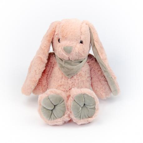 Игрушка полиэстерная Кролик 0220-1 Пудровый