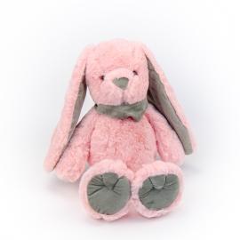 Іграшка поліестерна Кролик 0220-1 Рожевий