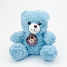 Іграшка поліестерна Ведмедик Блакитний