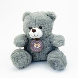 Іграшка поліестерна Ведмедик Сірий