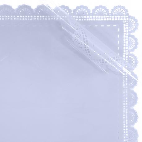 Пленка матовая в листах с кружевом S.HBLS 2 Серая