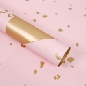 The film is matte in sheets with gold inserts S.SJLJ Pink
