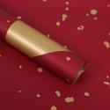 Пленка матовая в листах с золотыми вставками S.SJLJ Wine