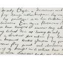 Paper President series Letter on white