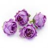 Головки цветов роза пионовидна сиреневая