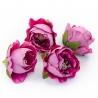 Головки цветов роза пионовидна лиловая