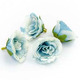 Головки цветов эустома голубая