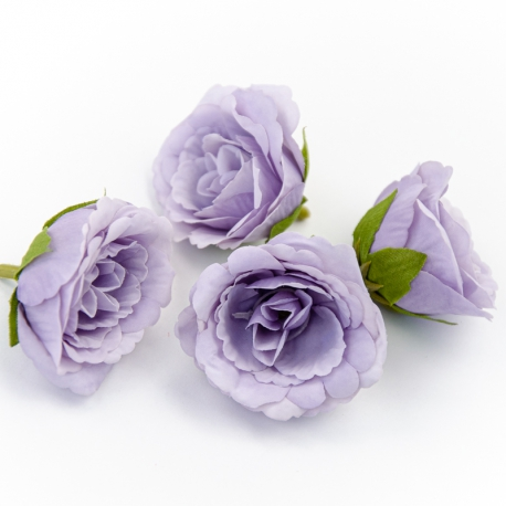 Eustoma lilac flower heads