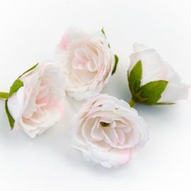 Головки квітів еустома світло-рожева