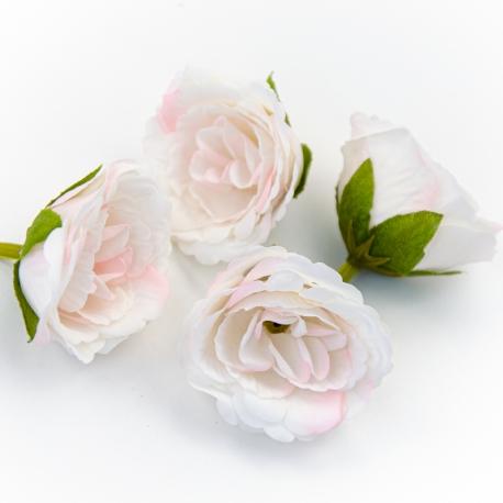 Eustoma flower heads are light pink