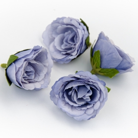 Головки цветов эустома синяя